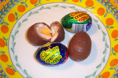 Cadbury Deliciousness Eggs...mmmmm