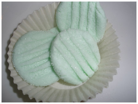 Creamy no-cook mints.