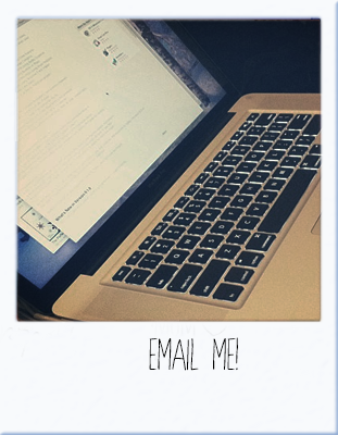 Shoot me an e-mail!