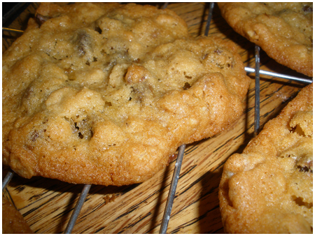 Parliament Chunkadelic cookies- they're nutty!