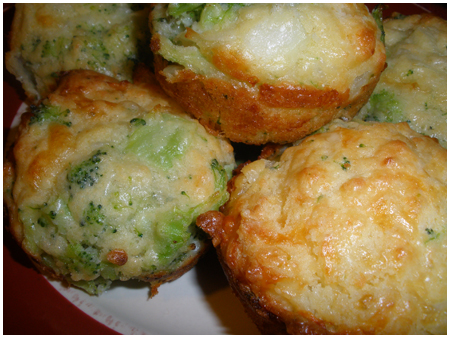 Broccoli pies a la Brianne.