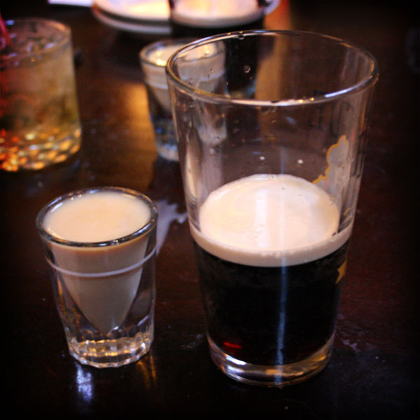 "Jay's birthday ""Car Bombs."""