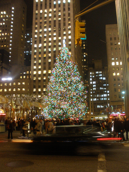 Rockefeller Center, photo by me, Dec. 2009