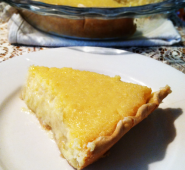 Pineapple pie for my mom