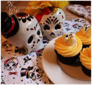 Black velvet, sugar skulls & a Sourpuss giveaway!