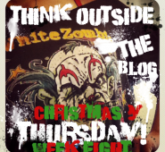 It's a Christmas-y Think Outside the Blog Thursday!.