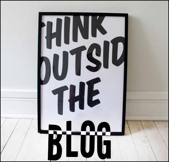 Think Outside the Blog: week 13.