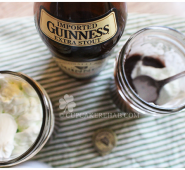 Ye olde Irish dark chocolate Guinness pudding.