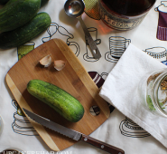 Maple-whiskey pickles; version 2.0.