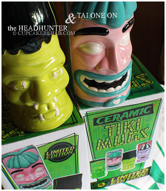 Sourpuss Clothing LIMITED EDITION Tiki mugs! Enter the giveaway now... ends May 27th 2013.