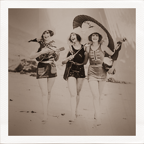 1920's bathing beauties!