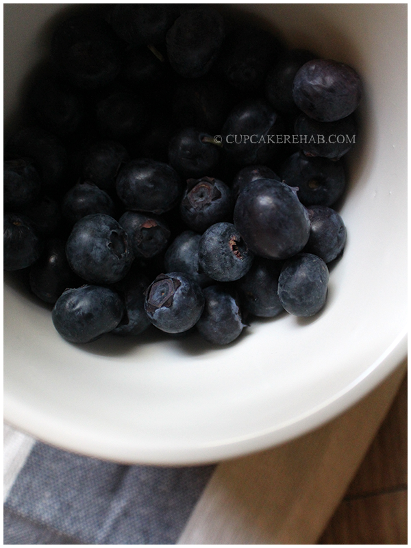 Fresh blueberries for blueberry cream pie (and blueberry basil jam!)