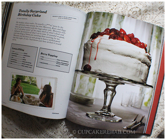 A cake from the cookbook True Blood: Eats, Drinks & Bites from Bon Temps