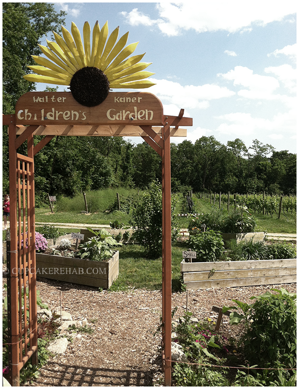 The Children's Garden at the Queens County Farm Museum.