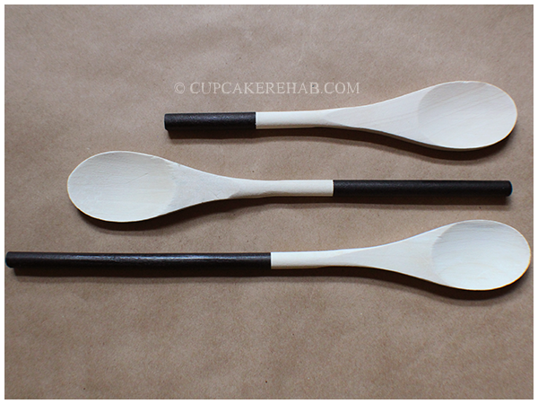 Make your own painted-handle wooden spoons.