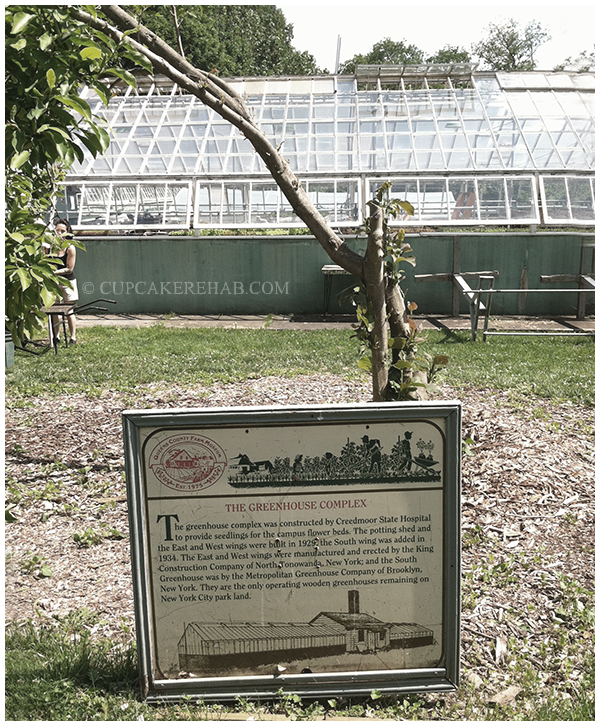 The Greenhouse at the Queens County Farm Museum.