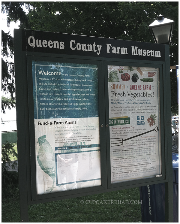Queens County Farm Museum.
