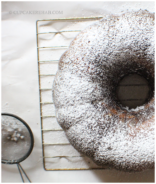 A beautiful zebra bundt cake recipe from Baker's Royale.