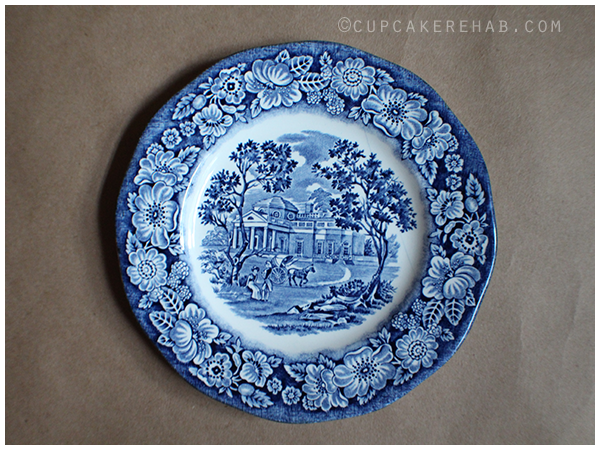 Liberty Blue Wedgwood Staffordshire ironstone.