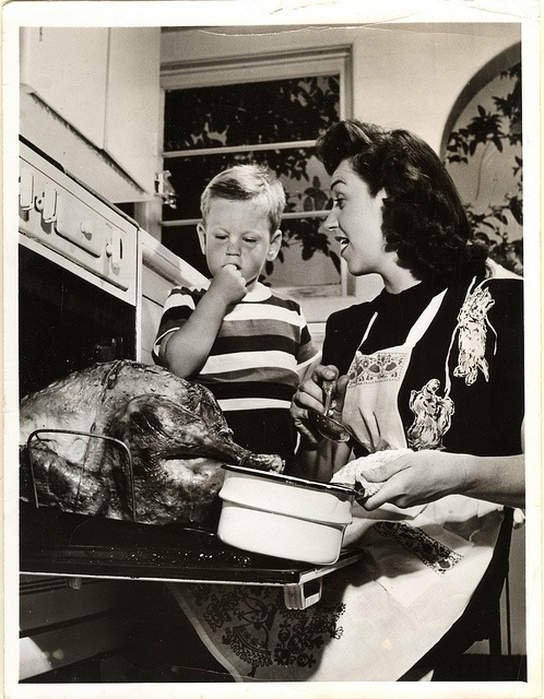 A 1950's Thanksgiving.