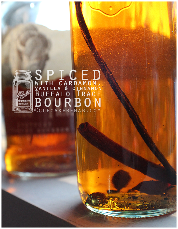 Spiced Buffalo Trace Bourbon; with cardamom, vanilla & cinnamon.
