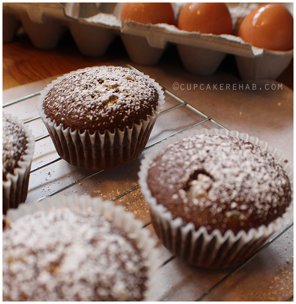 Deliciously easy fall muffins with candied ginger, coffee, orange zest, and black pepper!