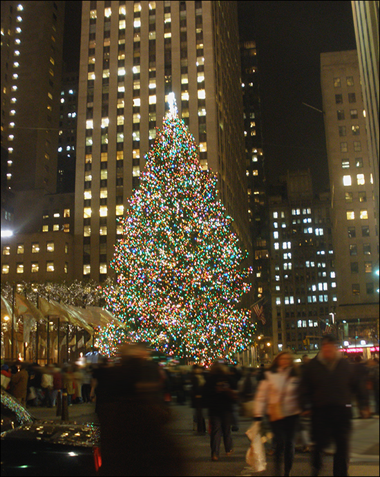 Rockefeller Center Christmas tree!