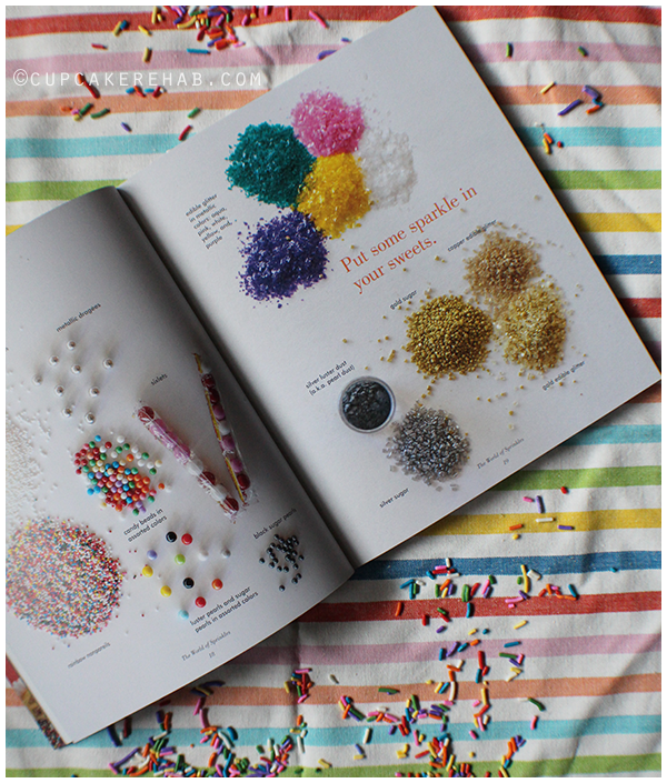 The new book Sprinkles! Recipes and Ideas for Rainbowlicious Desserts makes a fantastic Christmas gift!