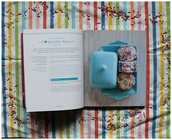 An excerpt from Sprinkles! Recipes and Ideas for Rainbowlicious Desserts.