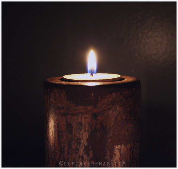 An easy DIY for tree branch candle holders.