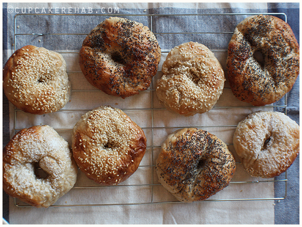 It's easy to make bagels at home, seriously.