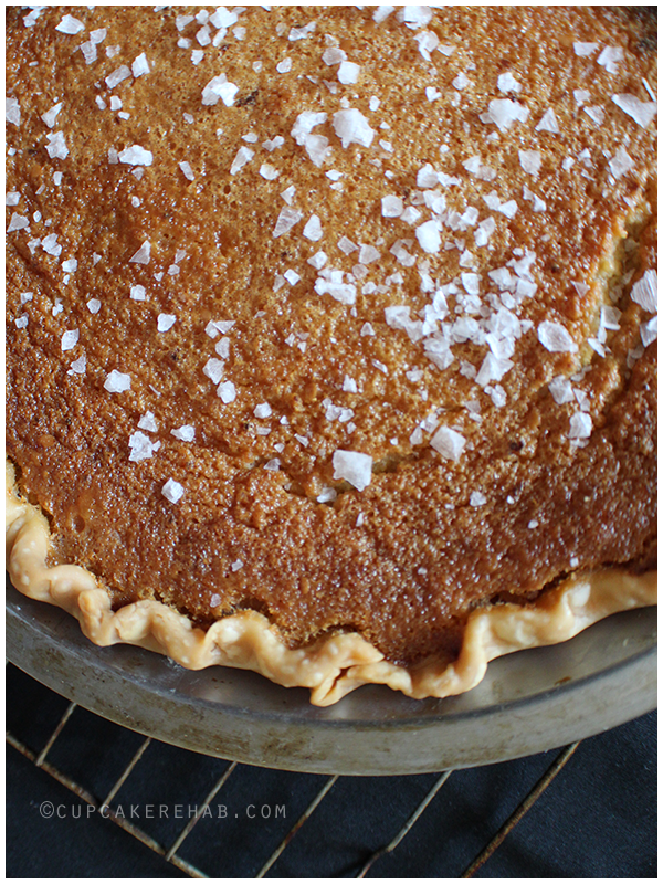 Salty honey pie!