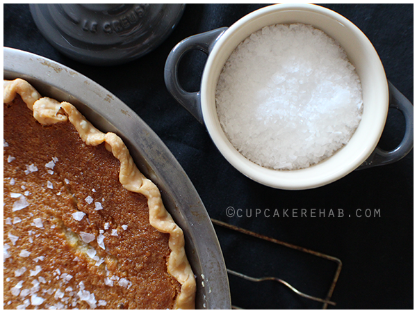 Four + Twenty Blackbirds' salty honey pie recipe.