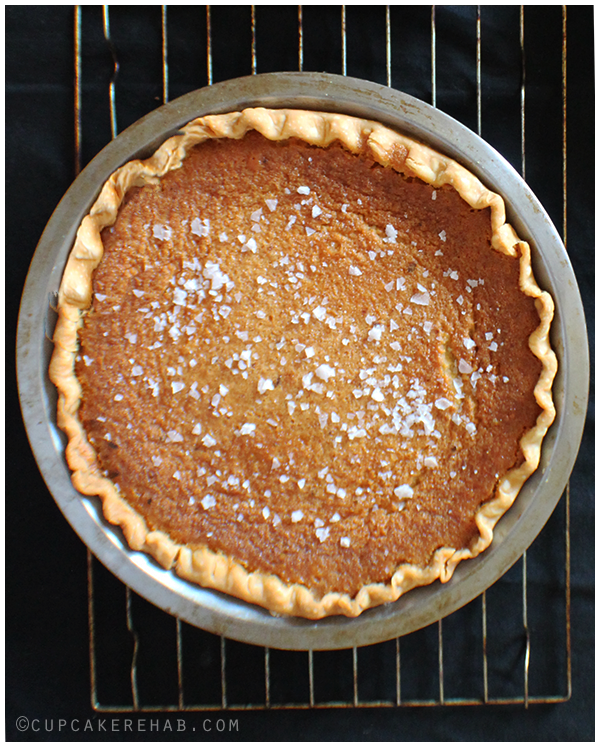 Salty honey pie from the Four + Twenty Blackbirds pie book.