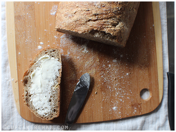 A classic French bread made with spent brewing grain.