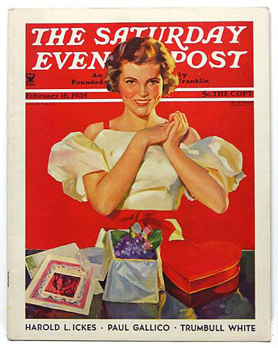 Saturday evening post Valentine's Day!