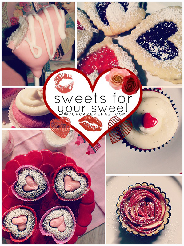 Sweets for your sweet: Valentine's inspiration from Cupcake Rehab.