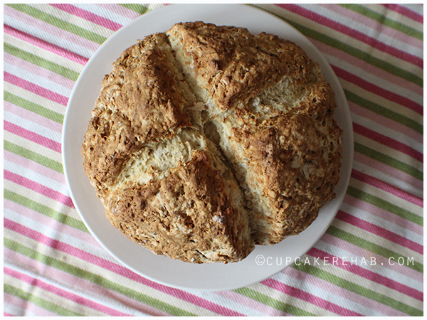 Authentic Irish soda bread.