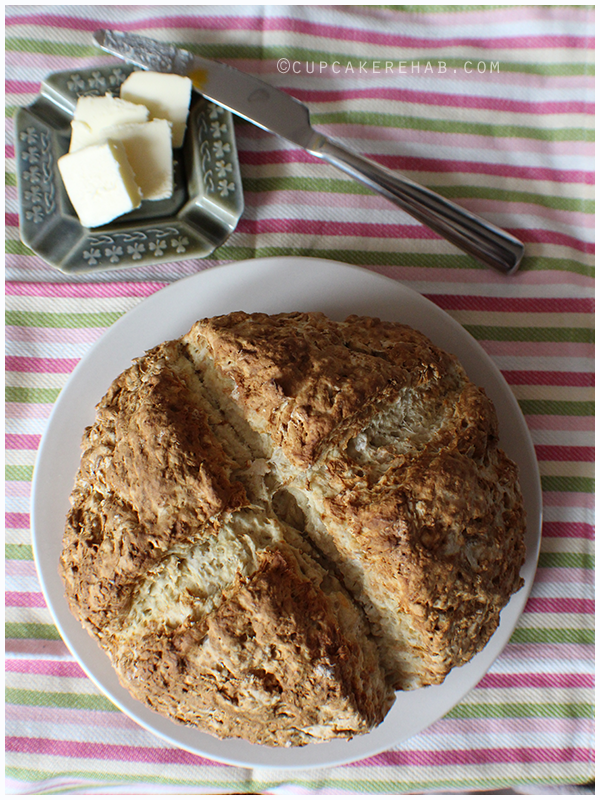 4- ingredient real AUTHENTIC Irish soda bread.