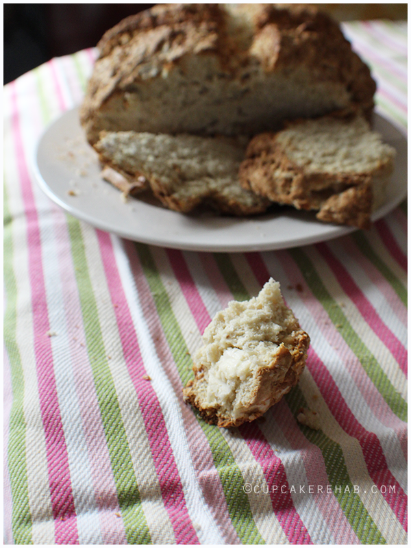 A REAL Irish soda bread- none of that funny stuff like raisins. Authentic & true.