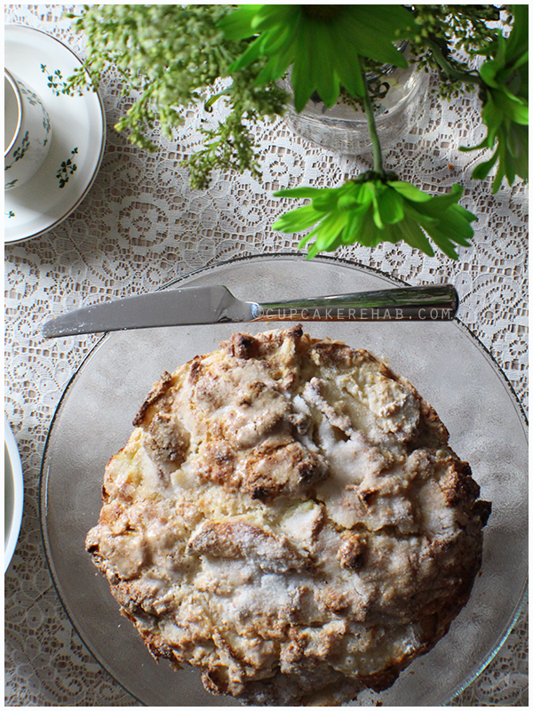 Irish apple cake!