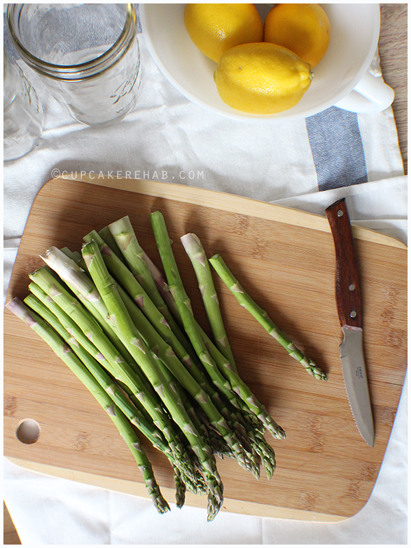 Pickled asparagus recipe!