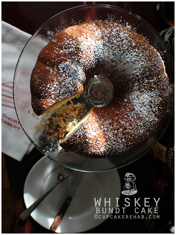Whiskey bundt cake!