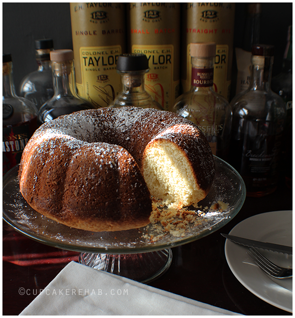 Whiskey bundt cake.