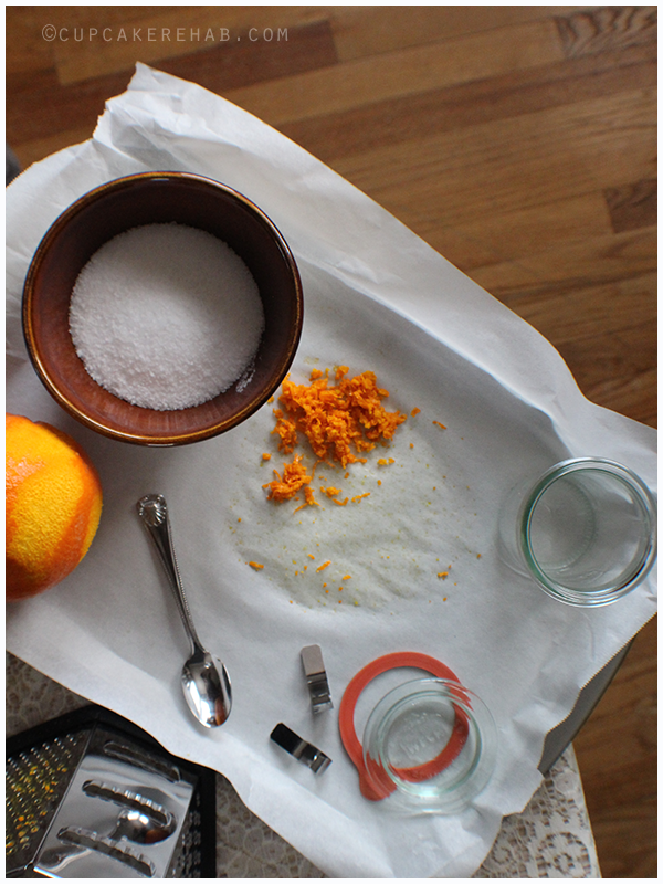 Citrus salt how-to, plus ideas on using it.