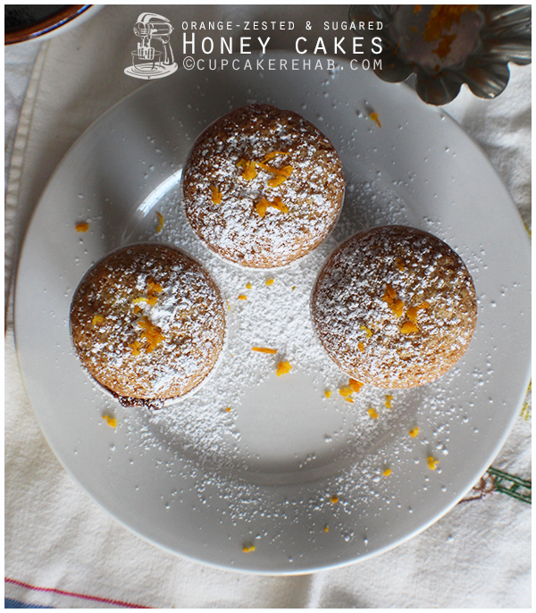 Grandma Dotty's honey cakes.
