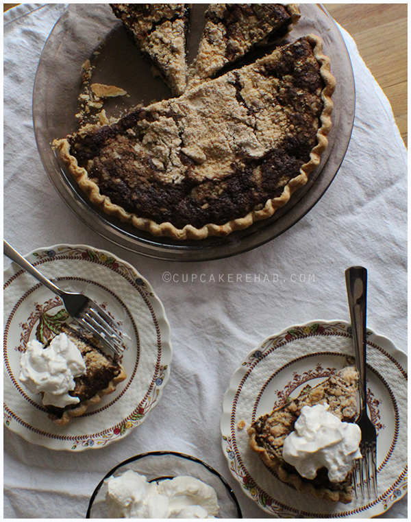 The famous Amish shoo-fly pie!