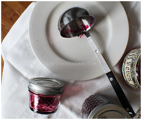 Triple berry maple bourbon jam with Cabin Fever whiskey.
