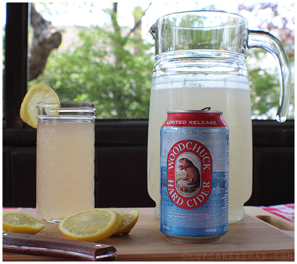 Summer Shandy's made with Woodchuck summer hard cider.