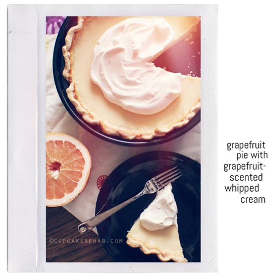 Grapefruit pie.